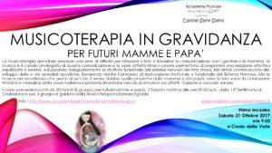 musicoterapia in gravidanza ma pa