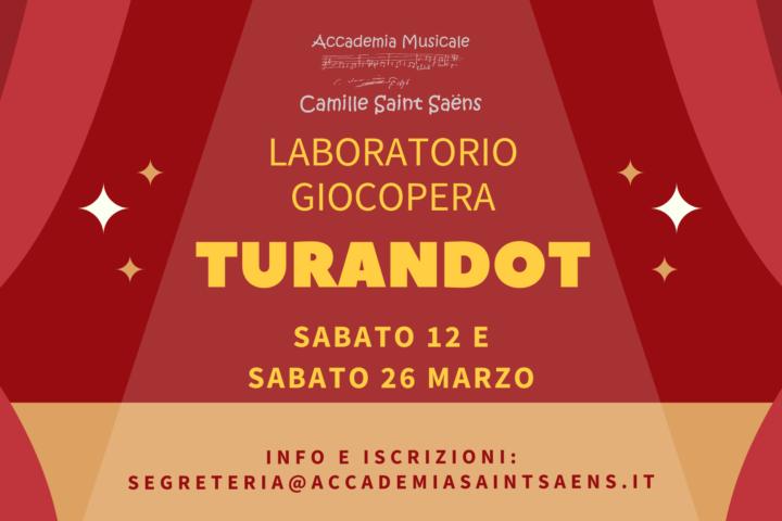Laboratorio Giocopera Turandot